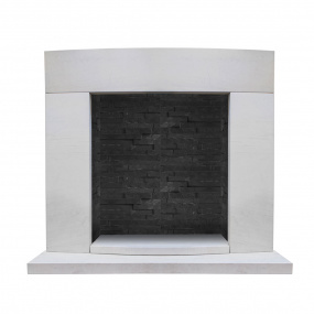 HU Home Florence Limestone Fire Surround