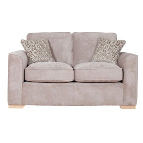 Brampton Mink Fabric 2 Seater Sofa