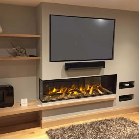 Evonic Fires E1800GF2 Hole in the Wall Electric Fire