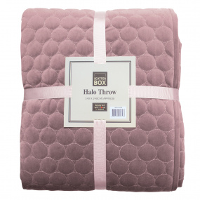 Scatter Box Halo Lilac Bedspread
