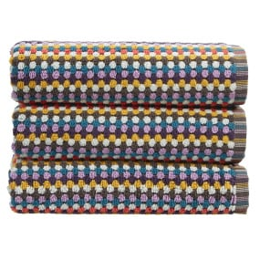 Christy Carnaby Stripe Multi Bath Towel