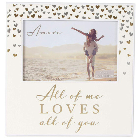 """All of Me Loves All of You Paperwrap Photo Frame 6"""" x 4"""""""
