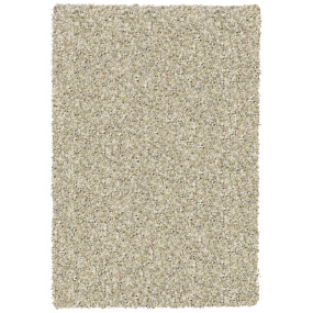 Twilight Beige and White Shaggy Rug Collection