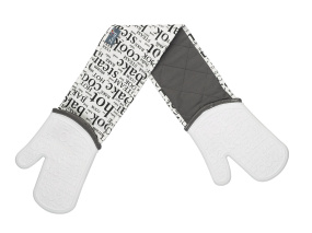 Zeal White Double Oven Glove