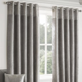 Belfield Nova Silver 66x90 Curtains