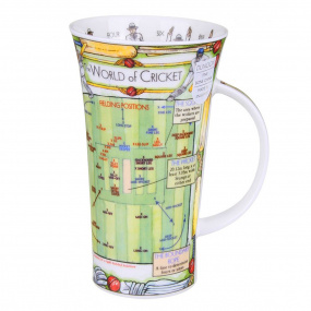 World of Cricket Novelty Mug