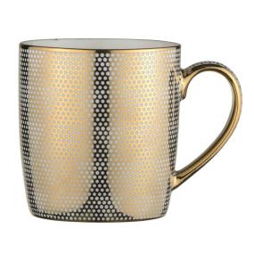 Dots Gold Porcelain Mug