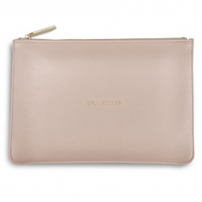 Katie Loxton Pink Clutch Bag
