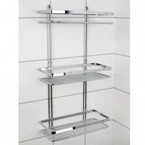 Euroshowers Satina Triple Rectangular Rack