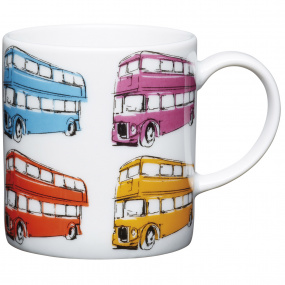London Bus Porcelain Espresso Cup