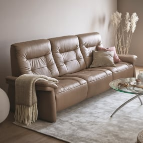 Stressless Mary 3 Seater Electric Recliner Sofa -lifestyle | Housing Units