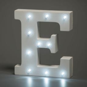 Light Up Letter - E