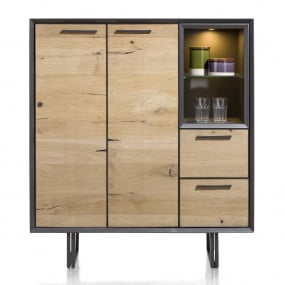 Sonata 2 Door Highboard Front View