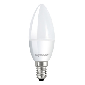 Supacell Digital LED Candle Opal SES E14 3W Bulb