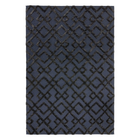 Dixon Black Rug Collection