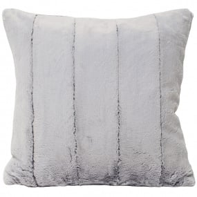 Riva Paoletti Faux Fur Empress Grey Cushion