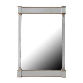 Versailles Champagne Mirror Finish Wall Mirror