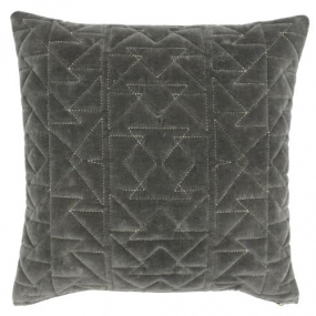 Riva Paoletti Aztec Grey Cushion Cover