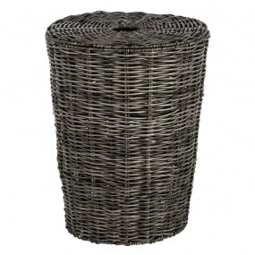 Matteo Antique Grey Large Laundry Basket