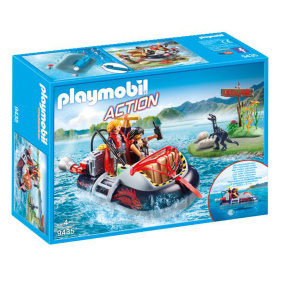 Playmobil Action Dino Hovercraft with Underwater Motor