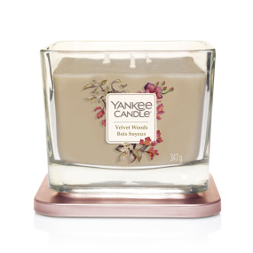 Yankee Candle Velvet Woods Medium 3-Wick Candle
