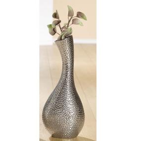 Chrome Spot Medium Vase
