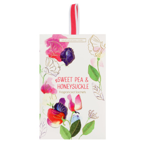 Heathcote and Ivory Sweet Pea and Honeysuckle Scented Sachet