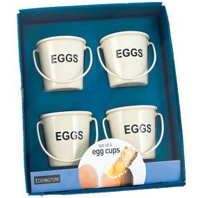 Mini Bucket Set of 4 Egg Cups
