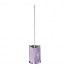 Twist Lilac Toilet Brush Holder