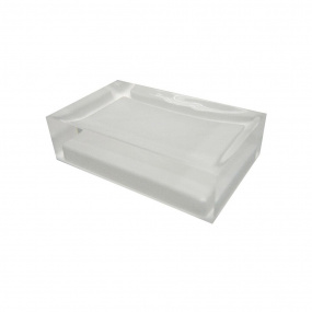 Rainbow White Soap Dish