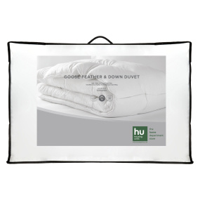 HU Home Goose Feather & Down 10.5 Tog Duvet Collection