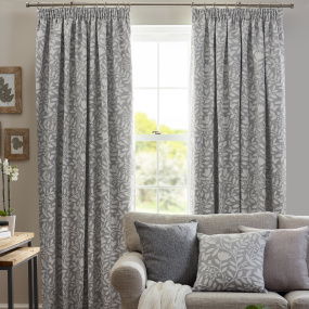 Belfield Elenor Dove Grey 90x90 Curtains
