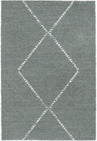 Mehari Grey and Cream Berber 133cm x 195cm Rug