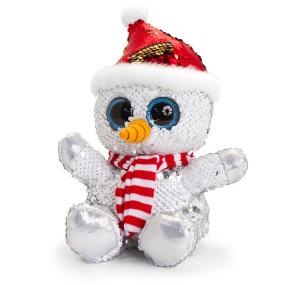 Glitter Sparkle Christmas Snowman Bear   Housing Units