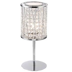 Lefes Chrome Table Lamp