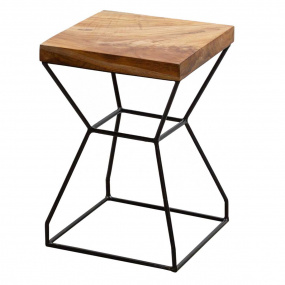 Natural Teak Root X Stool/Side Table | Housing Units