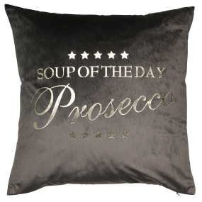Malini Prosecco Grey Cushion