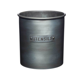 Industrial Kitchen Vintage Style Metal Utensil Holder