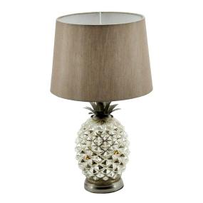 Pineapple Table Lamp Brown Shade