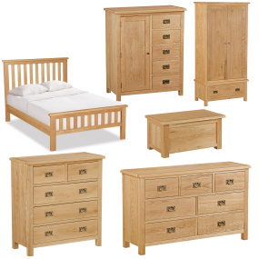 Dorset Light Oak Bedroom Collection