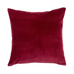 Jaipur magenta square cushion