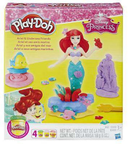 Play-Doh Ariel and Underwater Friends Playset
