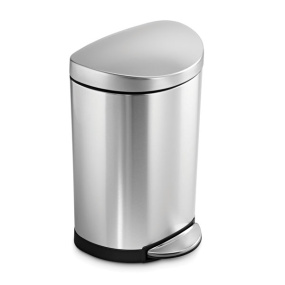 Simplehuman 10 Litre Steel Space Saving Bin