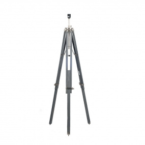 Hereford Grey Wash Wooden Floor Lamp Base