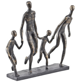 Family of Four Sculpture