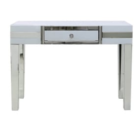Dash White Mirrored Console Table