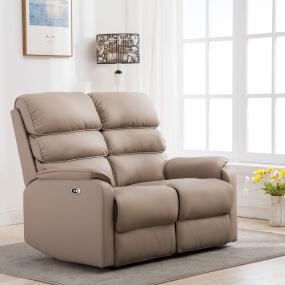 Clapham 2 Seater Pebble Electric Recliner Sofa