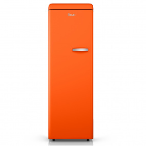 Swan Retro Orange Tall Freezer