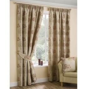 Belfield Arden Chintz Curtains 66 x 72