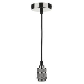 Braided Decorative Gunmetal Suspension Cable